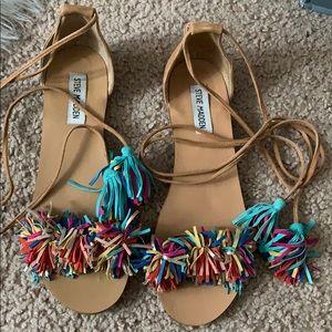 Tassle sandals